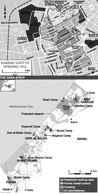 warsaw-gaza