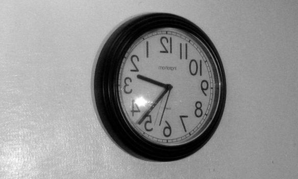 Bacward Clock by Fallsroad on Flickr